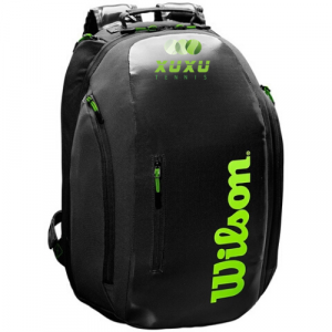Balo Tennis Wilson Super Tour Backpack Black Green WR8004301001