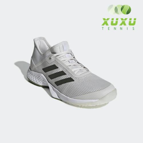 Giày Tennis Adidas Adizero Club Grey G26566