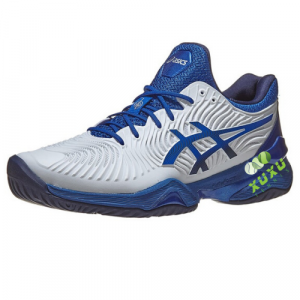 Giày Tennis Asics Court FF 2 Novak White Blue 1041A089-101