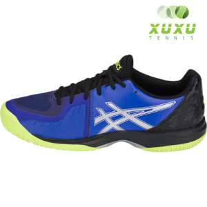 Giày Tennis Asics Gel Court Speed Black Blue Yellow E800N-410