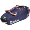 Túi Tennis Wilson Roland Garros Team 6 Pack WR8006701001