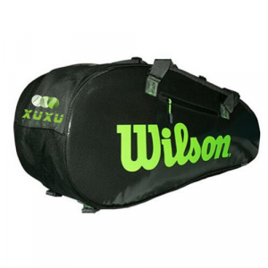 Túi Tennis Wilson Super Tour 2 Comp 9 Pack Black WR8004201001