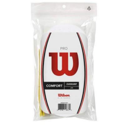 Quấn Cán Vợt Tennis Wilson Pro OverGrip #WRZ4017WH