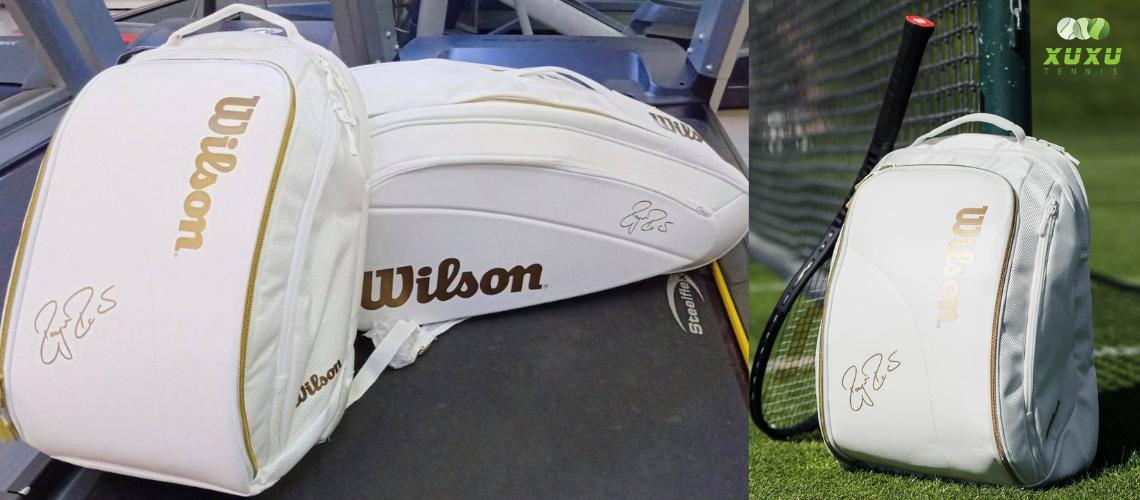 Balo Tennis Wilson Federer DNA White #WR8004501001