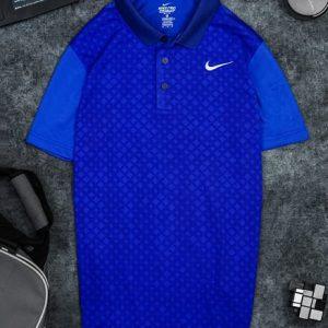 Áo Tennis Nike Có Cổ Màu Xanh Bích #ANCC02XB