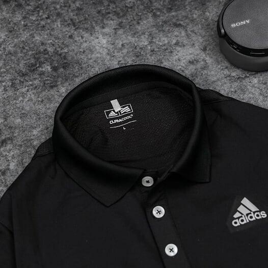 Áo Tennis Adidas Có Cổ Màu Đen #DASCC02D