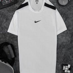 Áo Tennis Nike Cổ Tròn Màu Trắng #ANCT02T