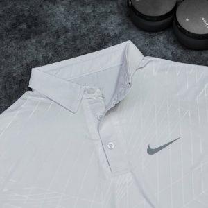 Áo Tennis Nike Có Cổ Màu Trắng #ANCC07T
