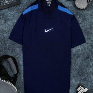 Áo Tennis Nike Cổ Tròn Xanh Đen #ANCT01XD