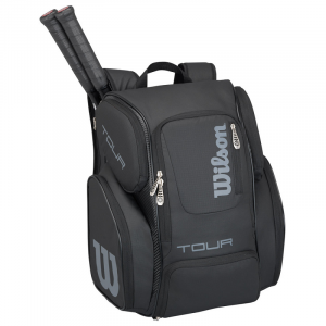Balo Tennis Wilson Tour V Backpack Large Black/Black #WRZ845696