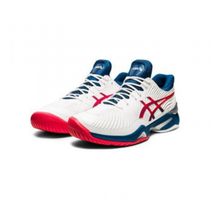 Giày Tennis Asics Court FF 2 White Mako Blue #1041A083-102