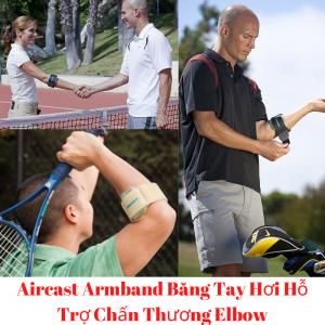 Aircast Armband Băng Tay Hơi Hỗ Trợ Chấn Thương Elbow