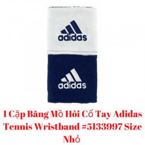 Băng Mồ Hôi Cổ Tay Adidas Tennis Wristband #5133997 Size Nhỏ - Xuxusports #5133997